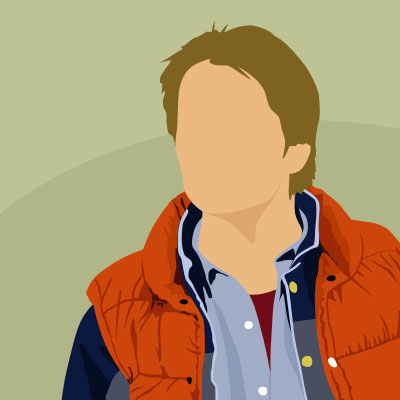 marty mcfly hi guess the character answers hi guess